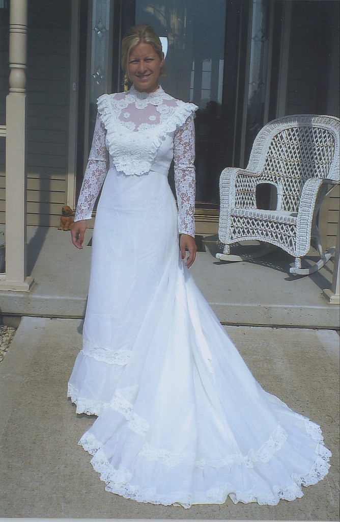 A Gorgeous Dress Made By Updating Her Mom S Wedding
