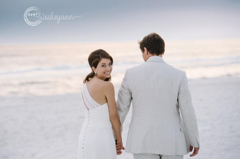 Jenny and Chris at Carillon Beach Weddings 1